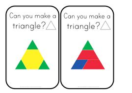 2d shape problem solving year 4